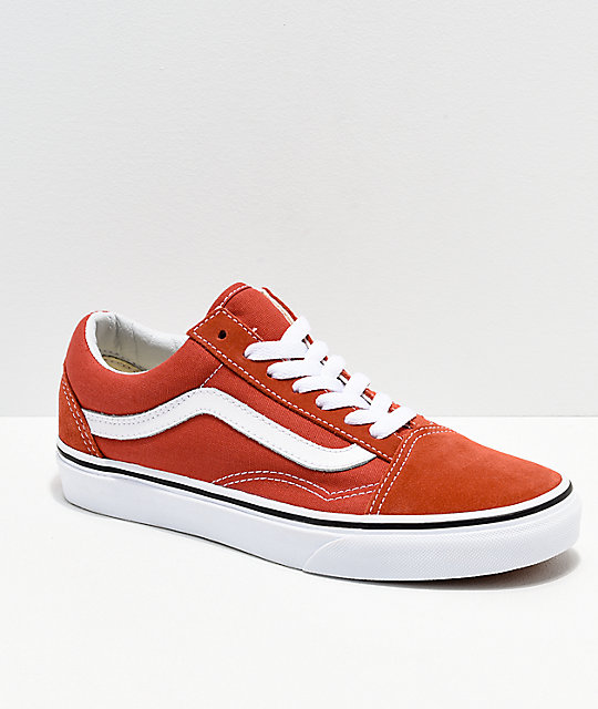 106e22efabbc Vans Old Skool Hot Sauce   White Shoes