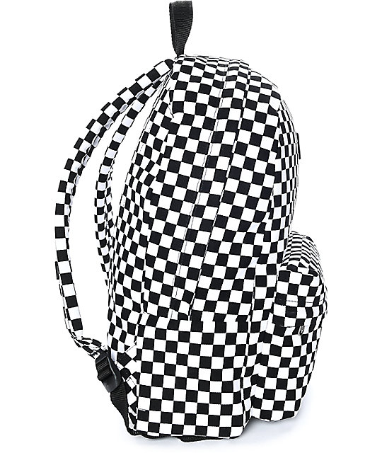 Vans Old Skool II Black & White Checker Backpack