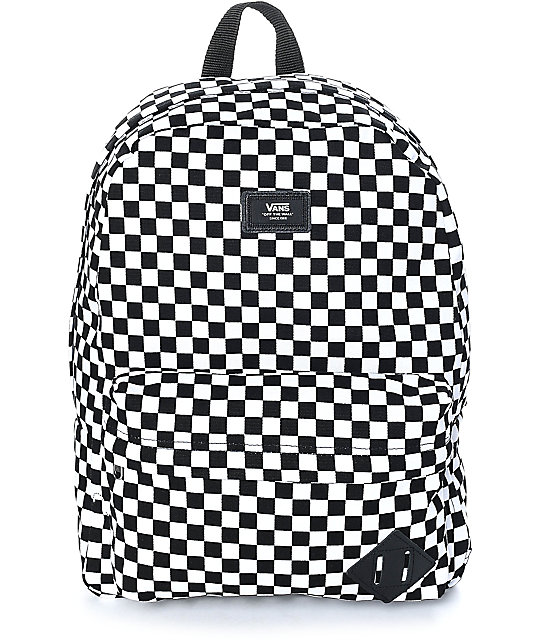 7e9463eb83b Vans Old Skool II Black & White Checker Backpack | Zumiez