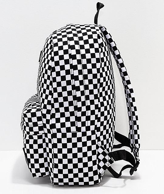 277875823e ... Vans Old Skool II Black   White Checkerboard Backpack ...