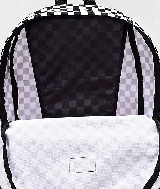 79bf7a3ac60 Vans Old Skool II Black & White Checkerboard Backpack | Zumiez