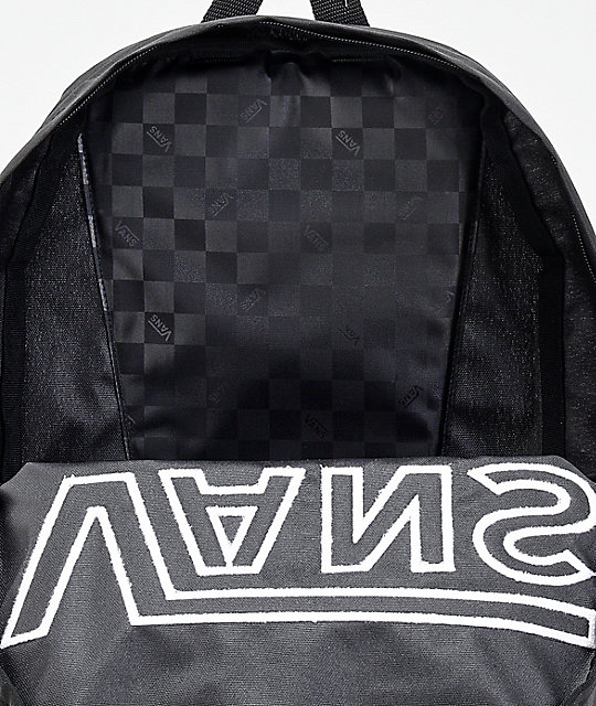 Vans Old Skool II Black & White Logo Backpack