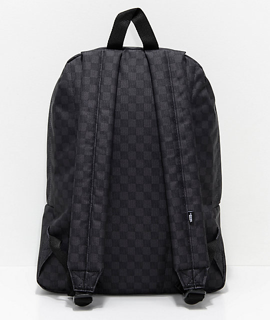 Vans Old Skool II Black & Charcoal Backpack