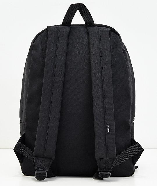 0099c2aeb0 Vans Old Skool II Black Backpack