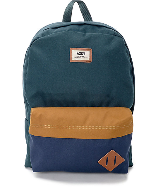 hot-selling professional aesthetic appearance where to buy Vans Old Skool II Green Gables Backpack