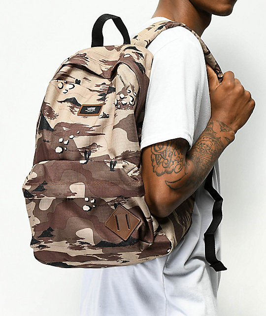 4e67c969866d6 Vans Old Skool II Storm Camo Backpack | Zumiez