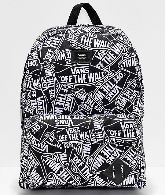 Vans Old Skool III Off The Wall Black & White Backpack