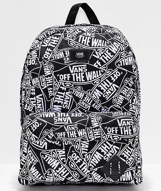 mochilas escolares vans of the wall