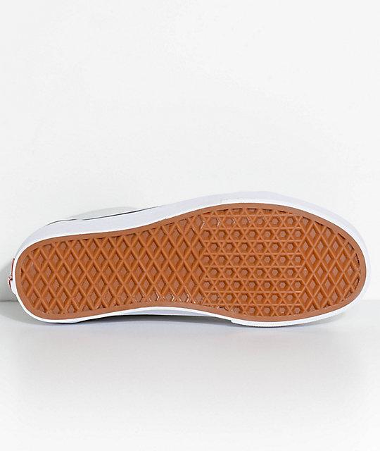 aa839c61728 ... Vans Old Skool Ice Flow   True White Skate Shoes ...