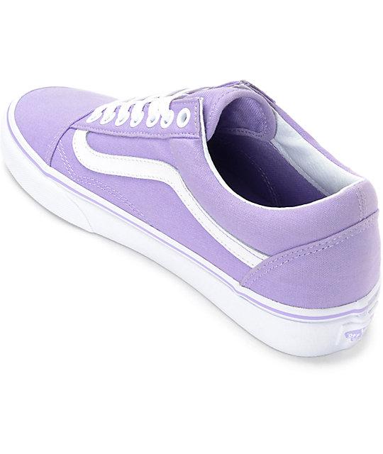 vans lilac old skool sneaker