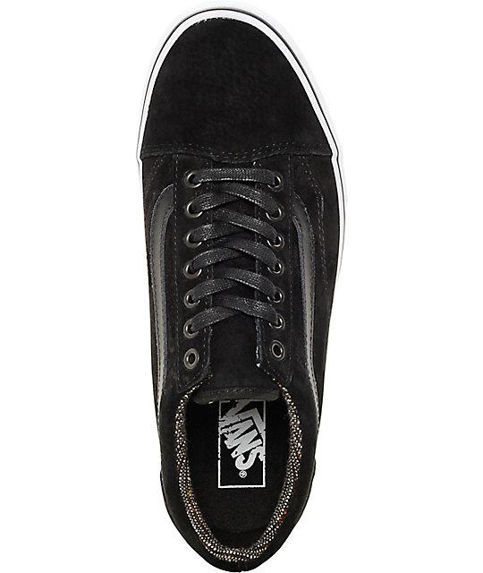 c2fae620712c ... Vans Old Skool MTE Black Tweed Shoes ...
