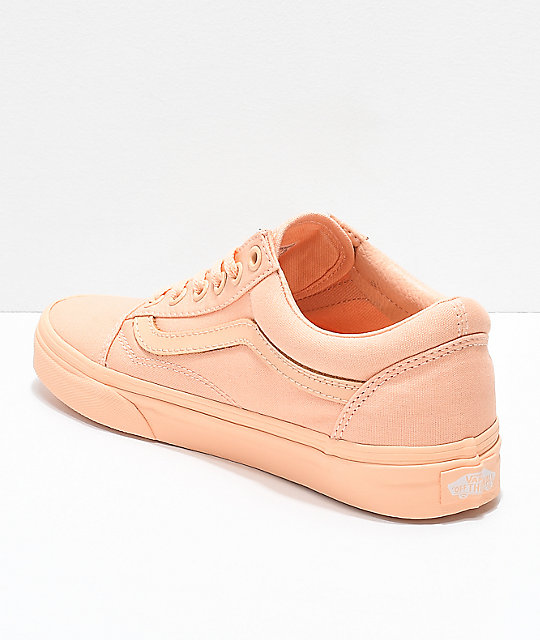 Vans Old Skool Mono Apricot Ice Skate Shoes