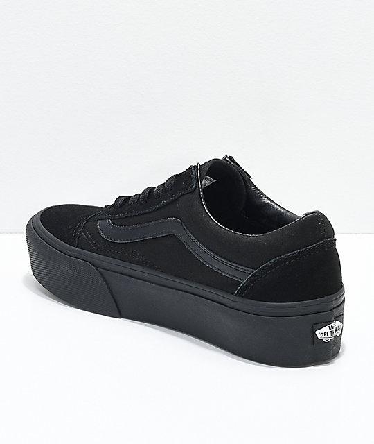 b52a781d628 ... Vans Old Skool Platform Shoes ...