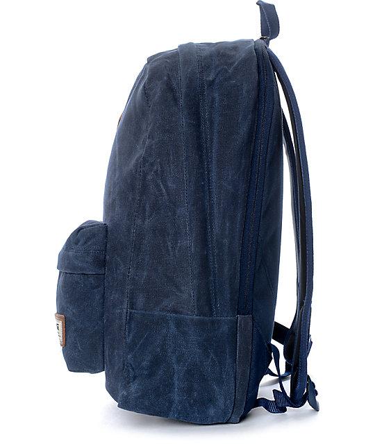 52c2db510a ... Vans Old Skool Plus Dress Blue Backpack ...