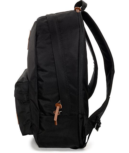 00449626dd ... Vans Old Skool Plus True Black Backpack ...
