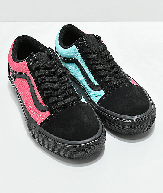 8143b4e88c ... Vans Old Skool Pro Asymmetrical Black