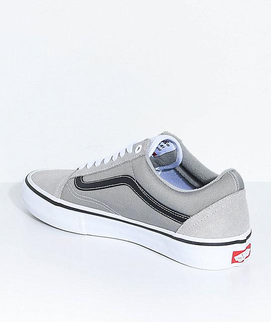 vans old skool pro grey