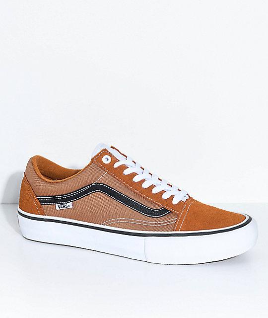 a2f3571682 Vans Old Skool Pro Ginger