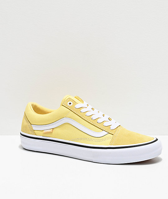 Vans Old Skool Pro Pale Banana zapatos de skate