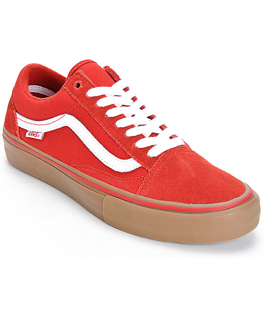 vans old skool rojas