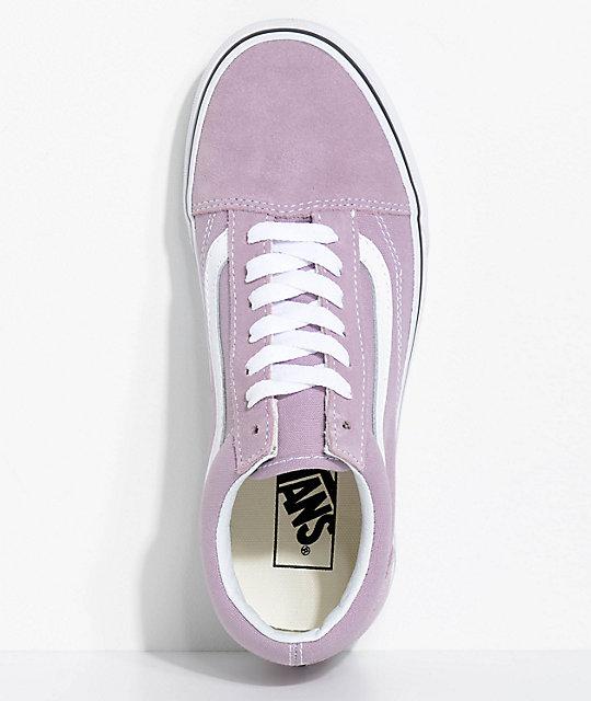 0ff7261880d3 ... Vans Old Skool Sea Fog   True White Skate Shoes ...