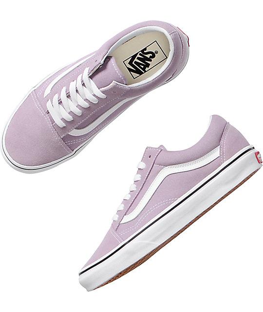 d51fbd3ac078 ... Vans Old Skool Sea Fog   True White Skate Shoes