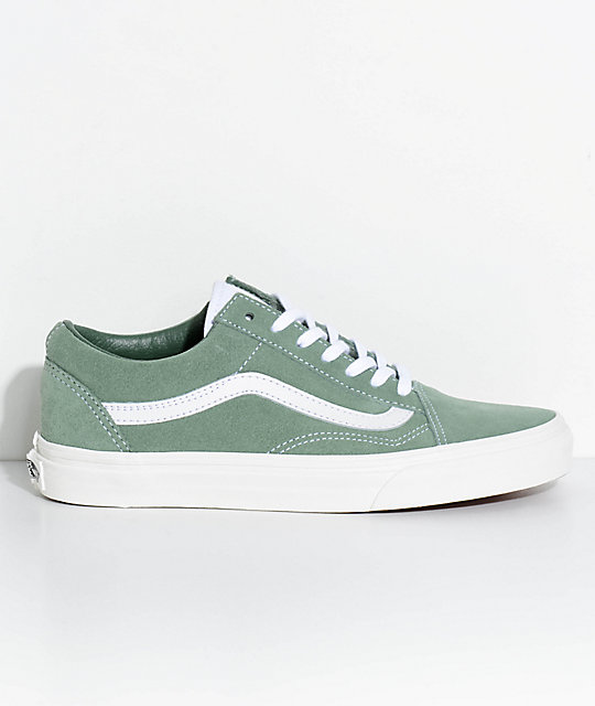 vans sea spray green