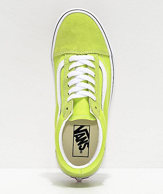 vans verde lime