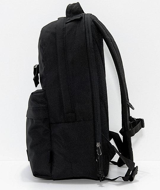 db264c39fe44 ... Vans Old Skool Travel Black 26L Backpack ...