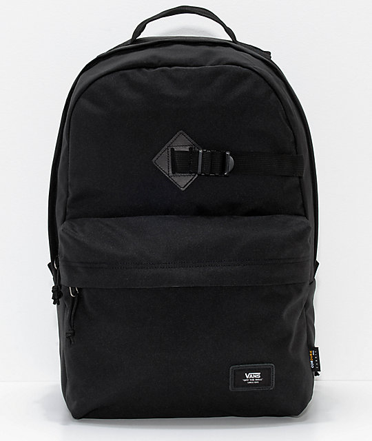 3e171efac0d Vans Old Skool Travel Black 26L Backpack | Zumiez