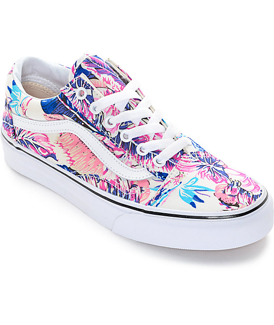 406e14677411 Vans Old Skool Tropical Shoes