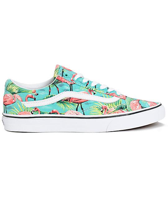 vans shoes flamingo