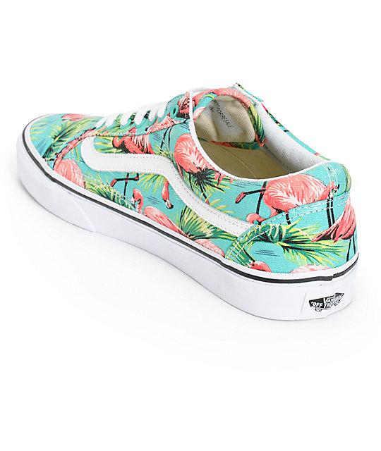 vans flamingo shoes
