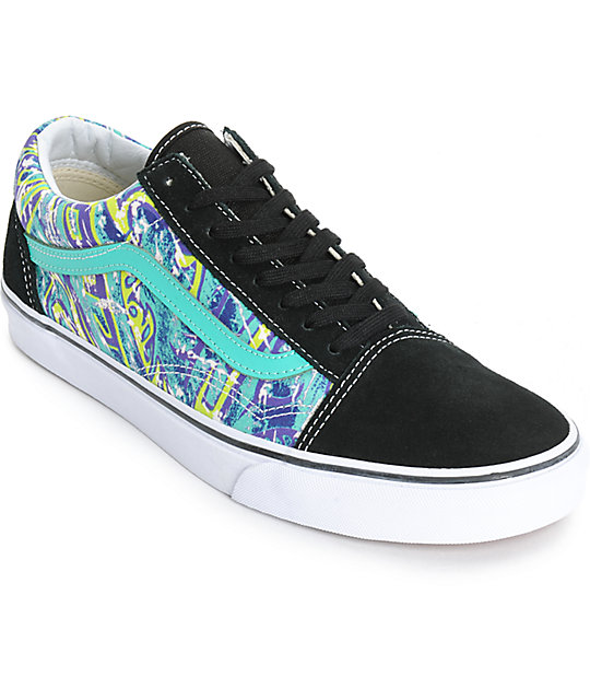 ef0b2507bdb974 Vans Old Skool Van Doren Hoffman Mens Skate Shoes