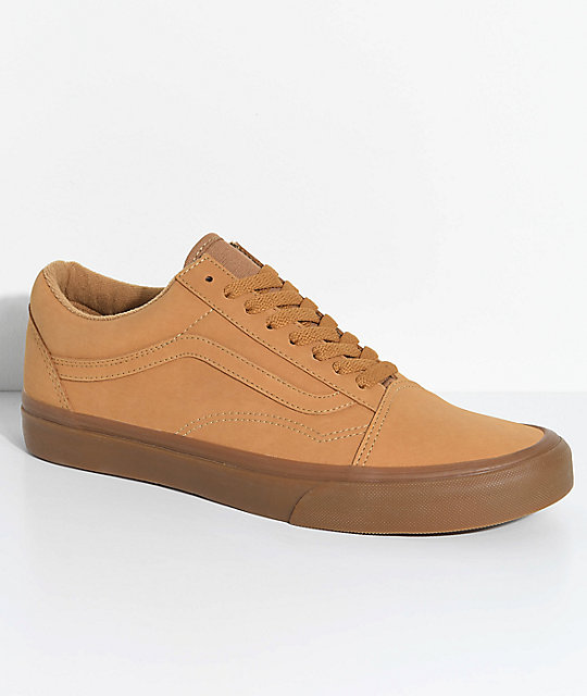 Vans Old Skool Vansbuck zapatos de skate en marrón