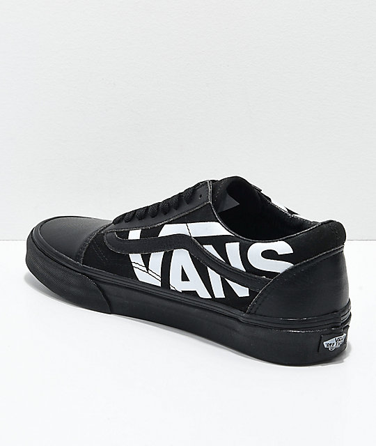 old skool black vans