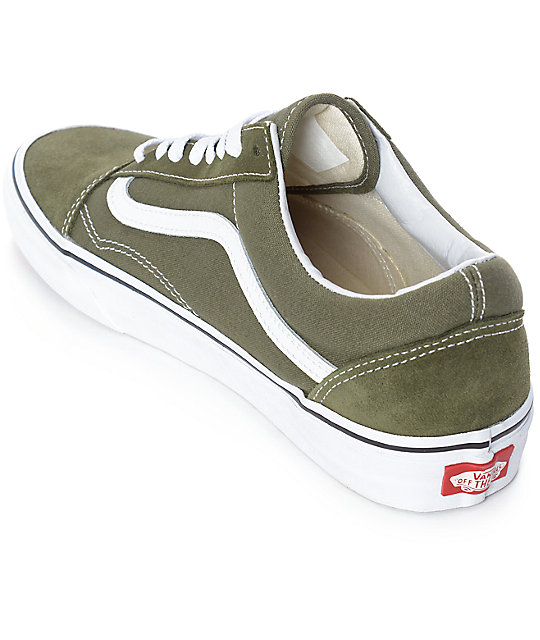 old skool vans verde