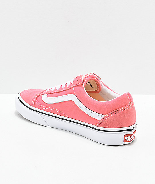 Vans Old Skool zapatos de skate de color fresa