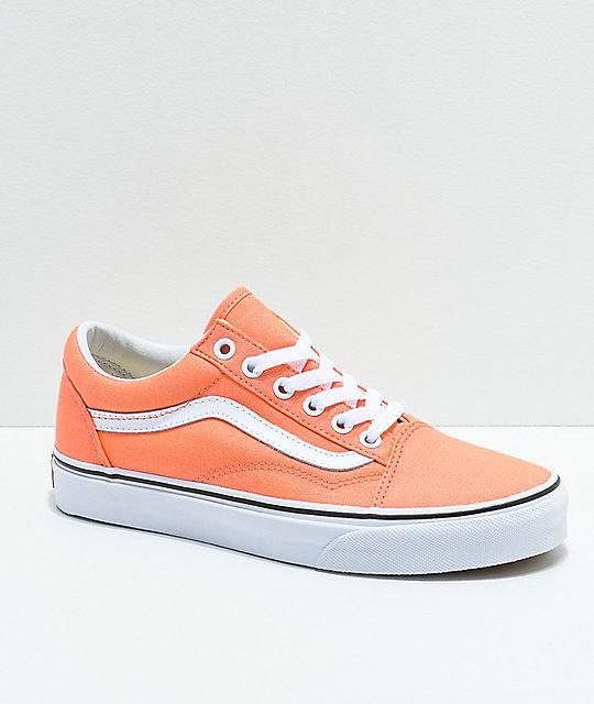 Vans Old Skool zapatos de skate en color melocotón ... b0ffc124d8e