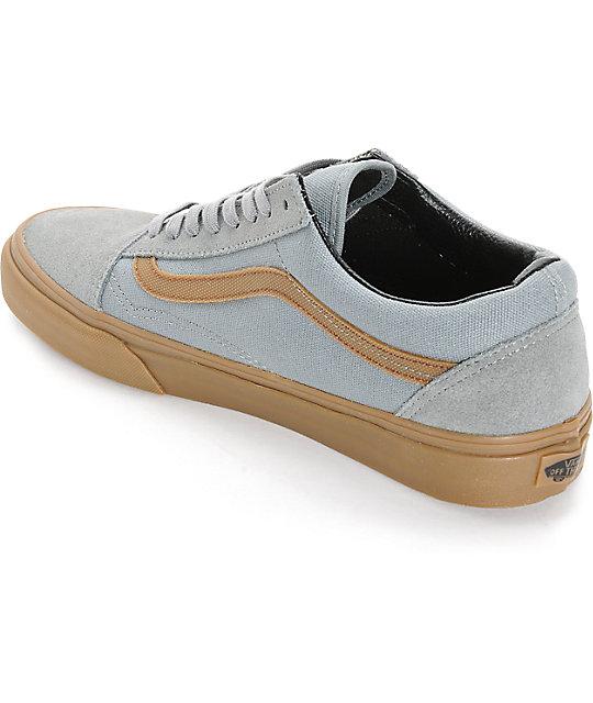 zapatos vans suela marron