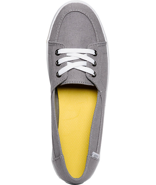 Vans Palisades Vulcanized Grey & White Shoes
