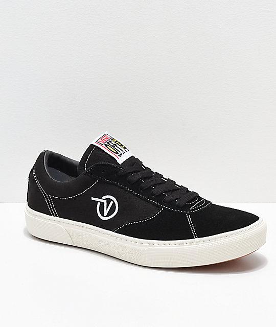 6674cf4f90 Vans Paradoxxx Black   White Shoes
