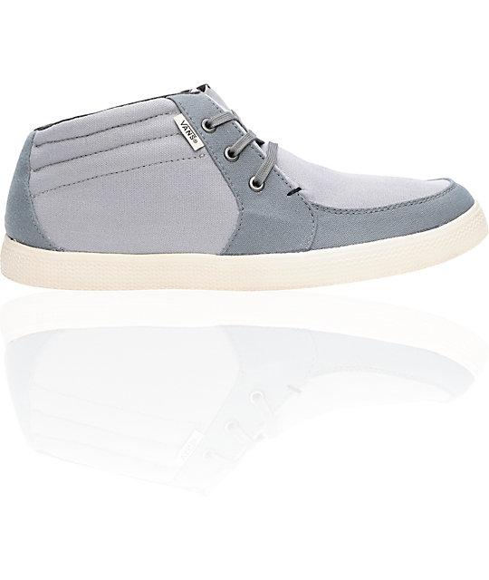 a084e6b9b5a4 Vans Raglan PET Sedona Sage   Neutral Grey Skate Shoes