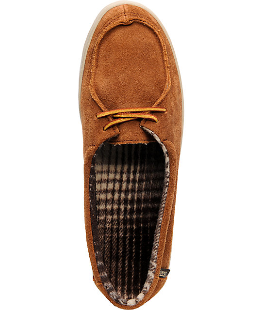 Vans Rata Lo Brown Suede Shoes