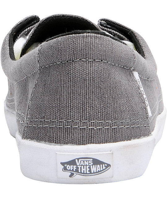 Vans Rata Lo Plum Kitten Grey Hemp Shoes
