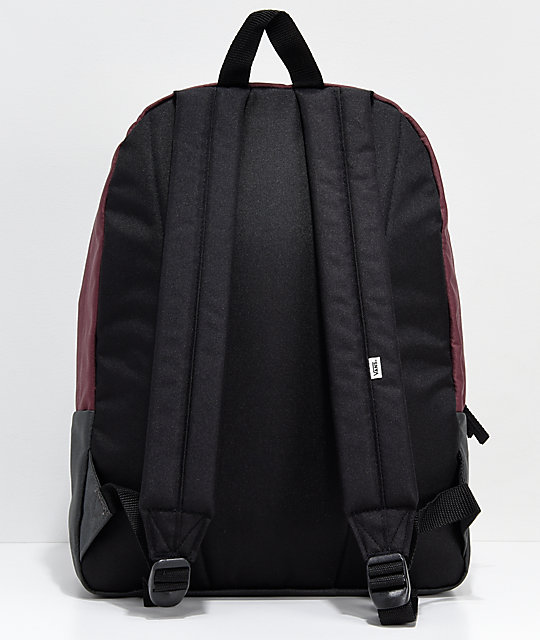 Vans Realm Asphalt, Grape & Lavender Backpack