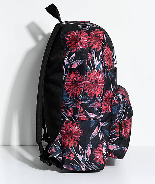 Vans Realm Black Dahlia 22L Backpack