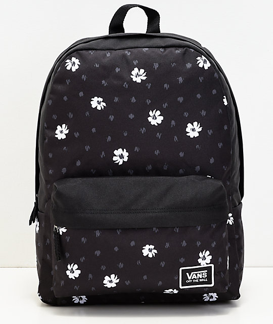 b875da1bf0 Vans Realm Classic Abstract Daisy Backpack ...