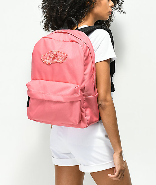 Vans Realm Desert Rose Backpack