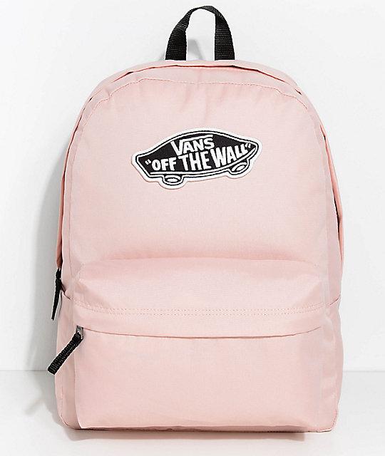 38aff57915748 Vans Realm Evening Sand 22L Backpack